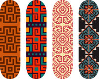 Skateboard designs Royalty Free Stock Image