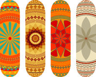 Skateboard designs Royalty Free Stock Images