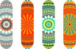 Skateboard designs Royalty Free Stock Photography