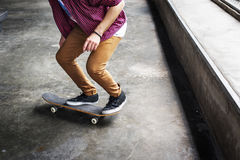 Skateboard Extreme Sport Skater Park Recreational Activity Conce Royalty Free Stock Photos