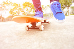 Skateboard fahren Lizenzfreies Stockbild