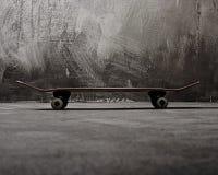 Skateboard on floor Royalty Free Stock Photos