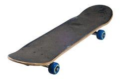 Skateboard getrennt mit Ausschnittspfad lizenzfreie stockbilder