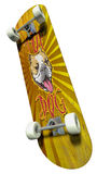 Skateboard with imprinted dog Royalty Free Stock Photography