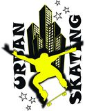 skateboard jongen Royalty-vrije Stock Foto