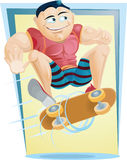 Skateboard Jump Stock Images