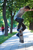 Skateboard jump Royalty Free Stock Photos