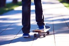 Skateboard jump Royalty Free Stock Photography