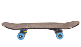 Skateboard. Modern Isolated On White royalty free stock photo