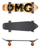A skateboard Royalty Free Stock Images