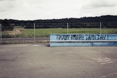 skateboard park Royalty Free Stock Image