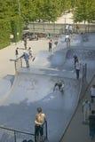 Skateboard Park, Palais de Omnisports de Paris Bercy, Paris, France Royalty Free Stock Images