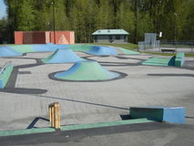 Skateboard Park Royalty Free Stock Photo