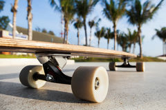 Skateboard on the promenade Stock Photography