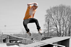 Skateboard Ramp Royalty Free Stock Photography