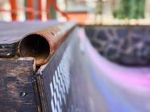 Skateboard ramp Stock Images