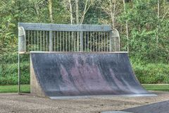 Skateboard ramp Stock Images