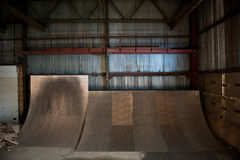 Skateboard ramps Royalty Free Stock Photography