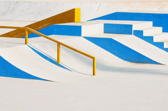 Skateboard Ramps Stock Image