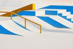 Skateboard Ramps Stock Image
