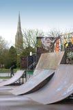 Skateboard Ramps Royalty Free Stock Photography