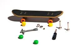 Skateboard repair Stock Photos