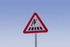 Skateboard sign Royalty Free Stock Photography