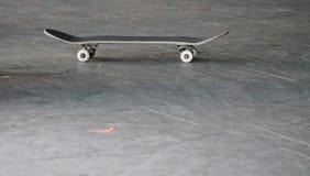 Skateboard in skate park Stock Photos
