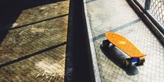 Skateboard Skater Skating Skill Space Sport Street Concept Royalty Free Stock Image