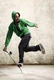 Skateboard skill royalty free stock photography