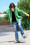 Skateboard Stunts Royalty Free Stock Photography