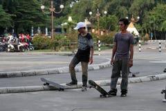 Skateboard stock image