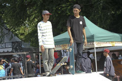 Skateboard stock photography