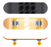 Skateboard templates Stock Image