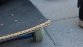 Skateboard. Textures with a blur background stock images