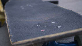 Skateboard. Textures with a blur background stock photography