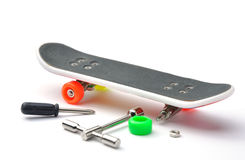 Skateboard toy Stock Image