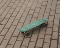 Skateboard on the track Royalty Free Stock Image