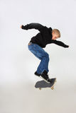 Skateboard trick Stock Images