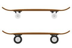Skateboard vector illustration Royalty Free Stock Images