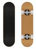 Skateboard vectorillustratie Stock Foto