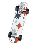 Skateboard, Vektorillustration Lizenzfreie Stockfotos