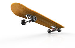 Skateboard on a white background Stock Photography