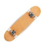 Skateboard on a white background stock photos