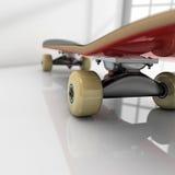 Skateboard on room Stock Photos
