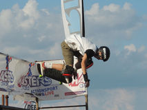 Skateboard XMA contest - Riccione 2015 Royalty Free Stock Photography