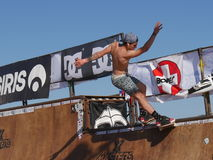 Skateboard Xmasters contest - Riccione 2016 Stock Images