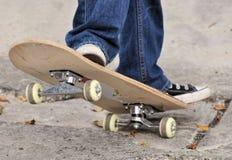Skateboarddetail stockbild