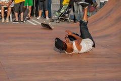 skateboarder πέστε στοκ εικόνες με δικαίωμα ελεύθερης χρήσης