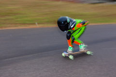 SkateBoarder προς τα κάτω SpeedBlur Στοκ φωτογραφία με δικαίωμα ελεύθερης χρήσης